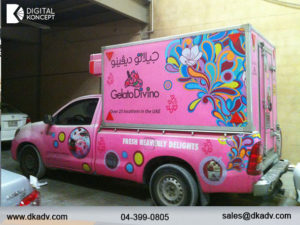 vehicle graphics services in dubai