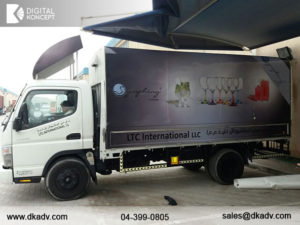 truck graphics in uae