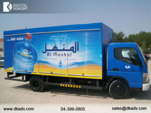 truck sticker in dubai ajman sharjah abu dhabi